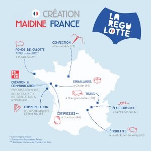 création culotte menstruelle made in France