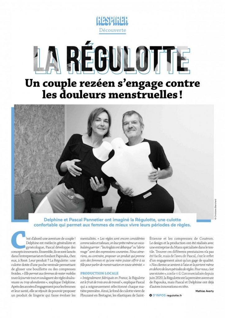 la régulotte dans le Journal de Nantes Métropole